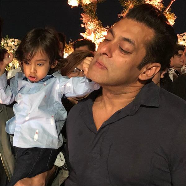 ahil sharma and salman khan