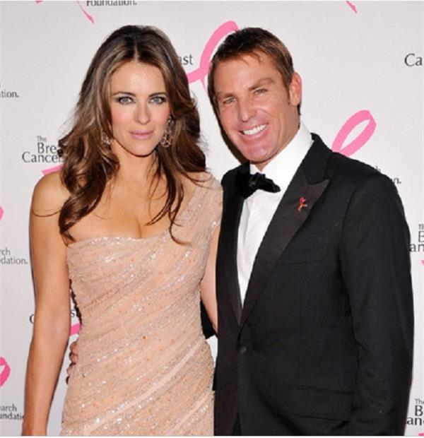 shane warne wishing to return his 43 million ring from elizabeth
