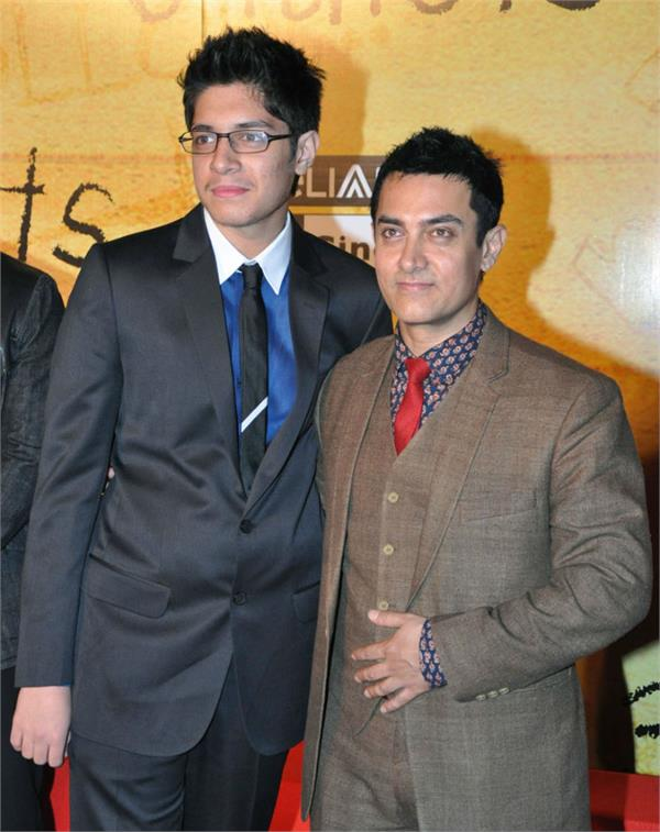aamir khan and junaid khan