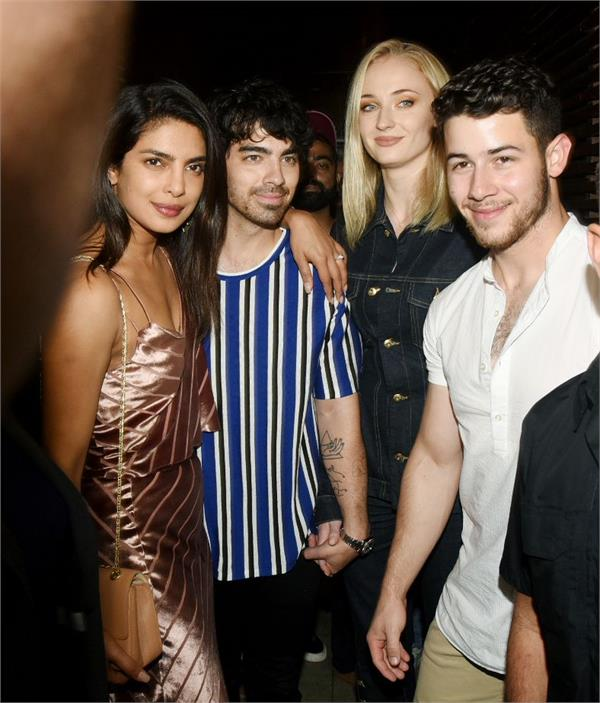 priyanka chopra and nick jonas pre wedding party