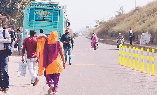 sahnewal  bus stand
