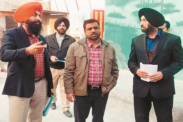 the election observer visited the various villages and reviewed