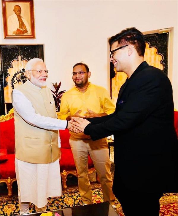 karan johar and narendra modi