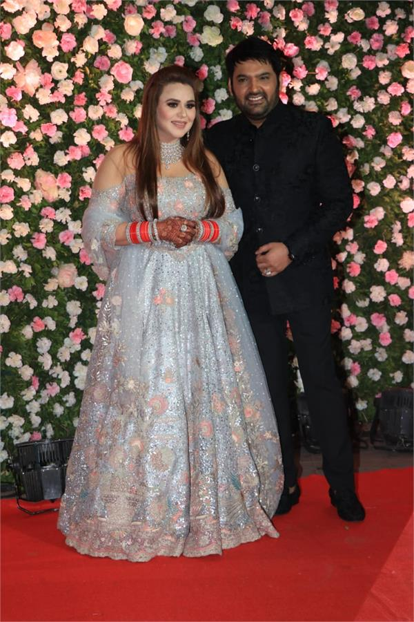 kapil gini s wedding begins in mumbai s reception