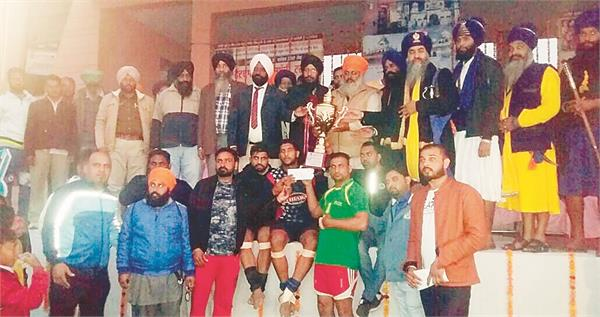 baba fateh singh sports club dancwal concludes the tournament