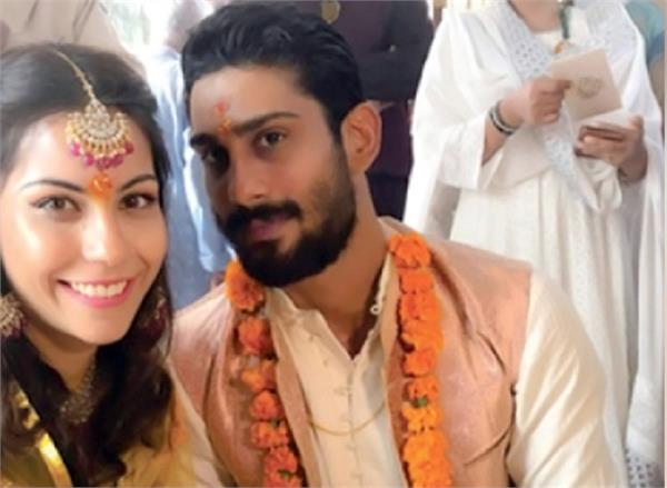 prateik babbar engaged with sanya sagar