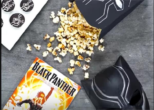 black panther oreos popcorn new music