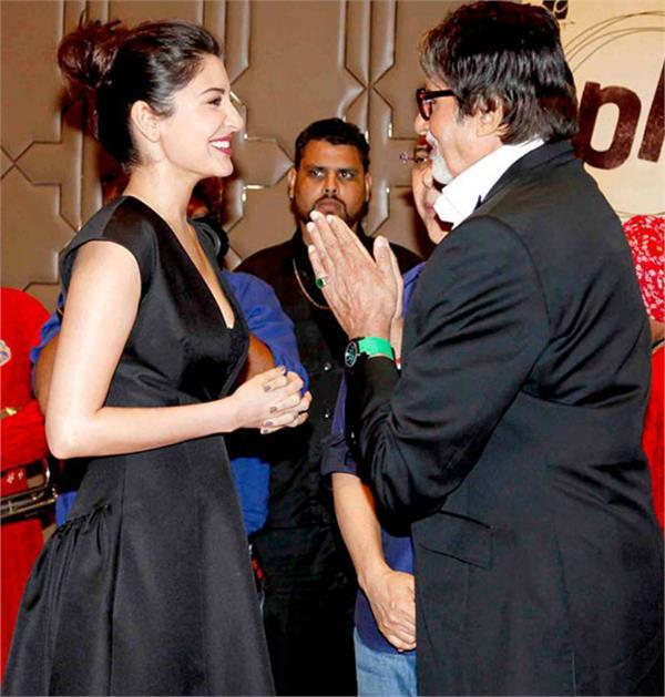 amitabh bachchan continues his dominance while anushka sharma leads
