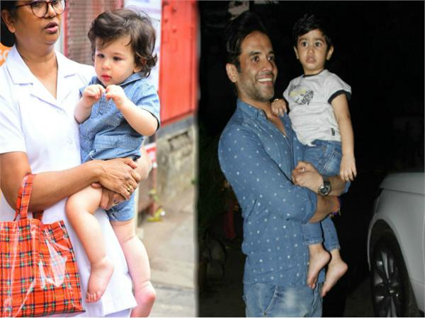 an evening play date for taimur ali khan and laksshya kapoor