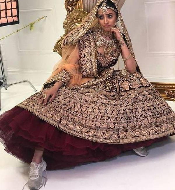yeh hai mohabaten shagun made by bridal photoshut see pictures