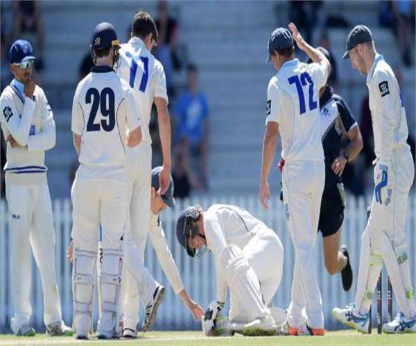 the bowler again threw dangerous bouncers