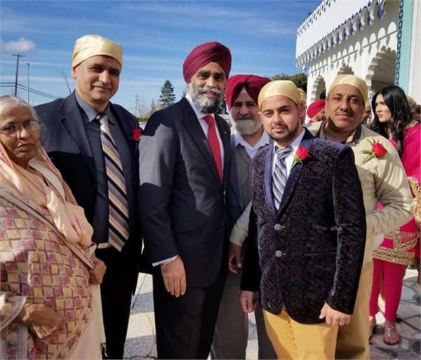 canadian defense minister harjeet singh sajjan