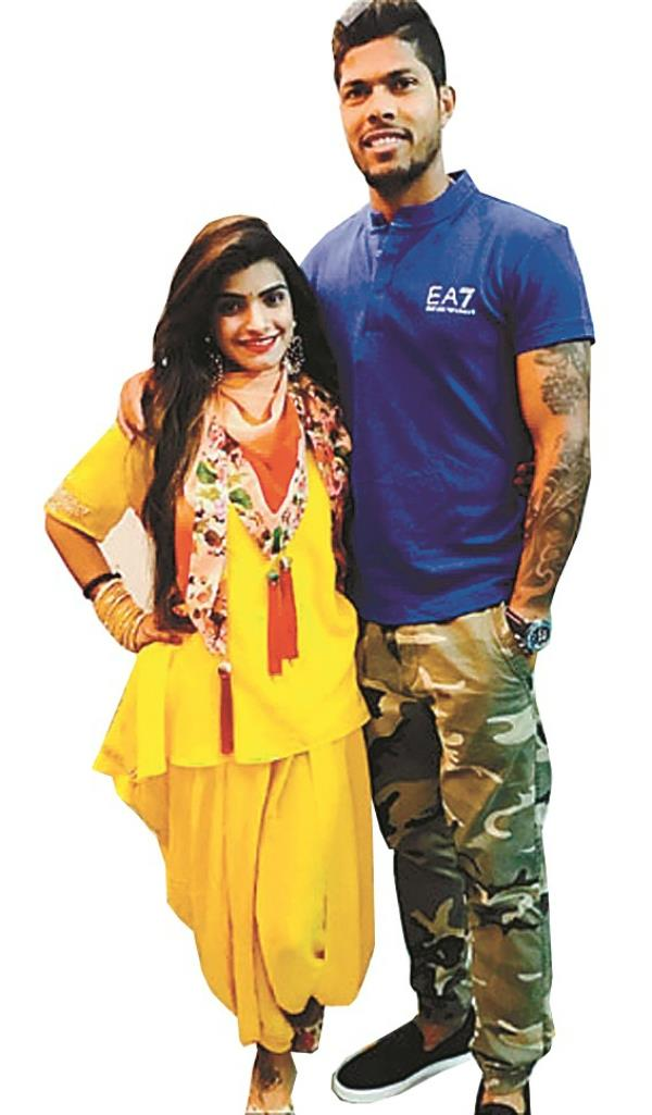 umesh yadav married fashion designer  married