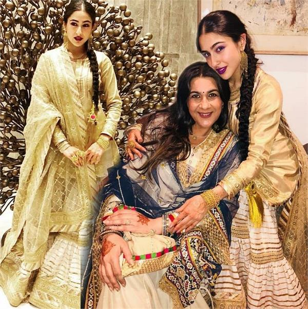 sara ali khan  s traditional photoshoot
