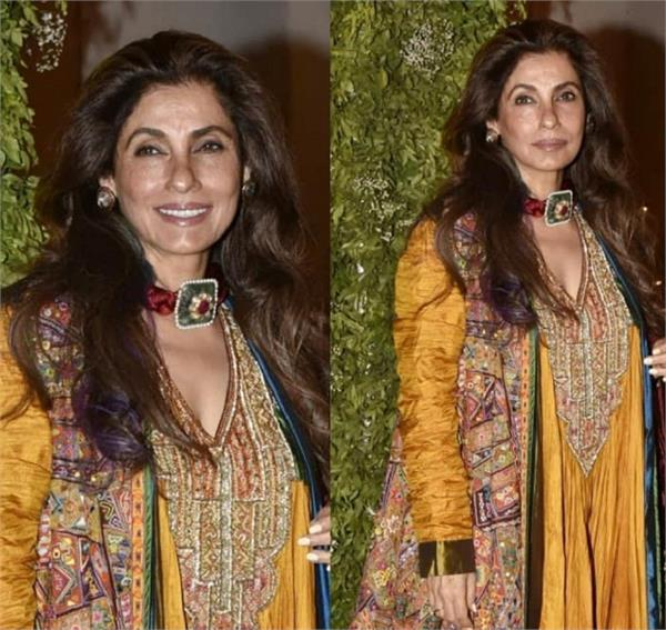dimple kapadia  s video viral