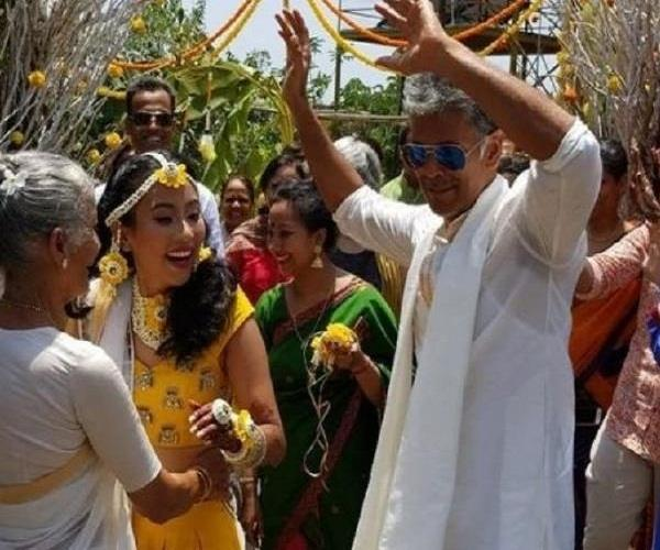 milind soman and ankita konwar mehendi photos are out