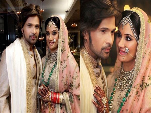 himesh reshammiya marriage pics