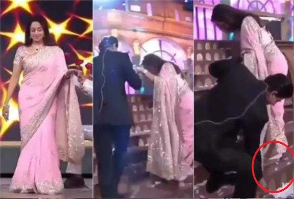 shah rukh khan and hema malini