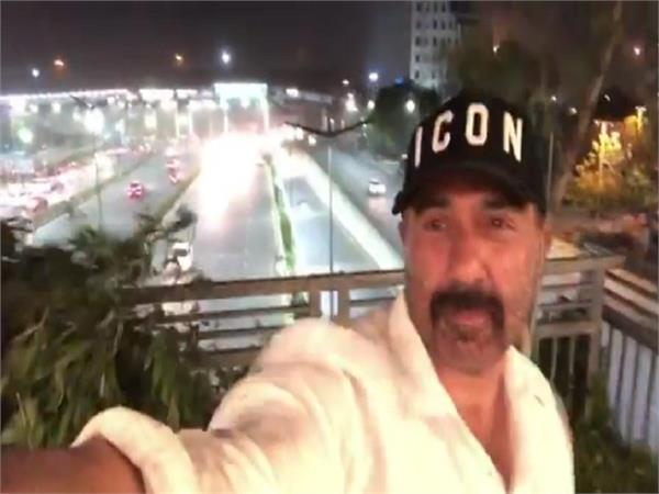 sunny deol share a video