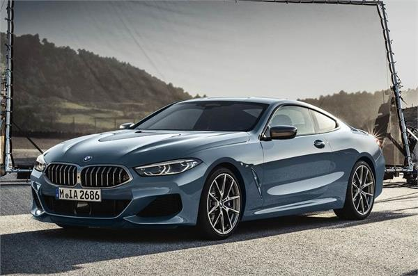 bmw brand new 8 series coupe at le mans
