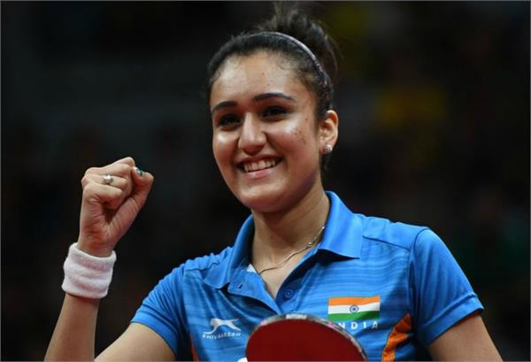 manika batra   excited