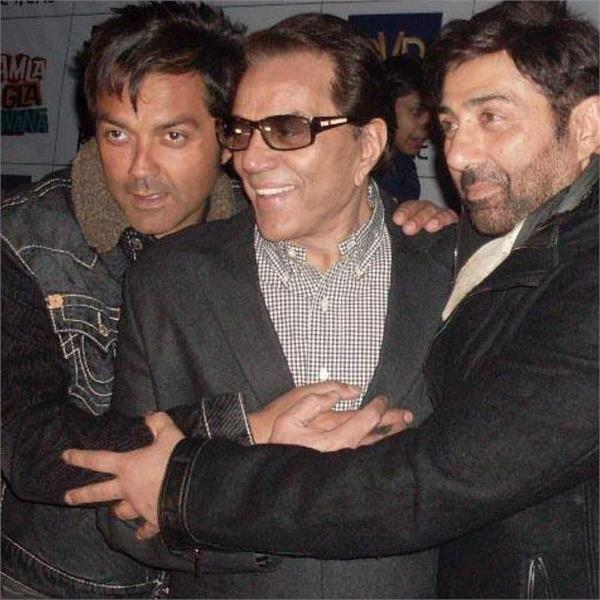 sunny deol bobby deol and dharmendra