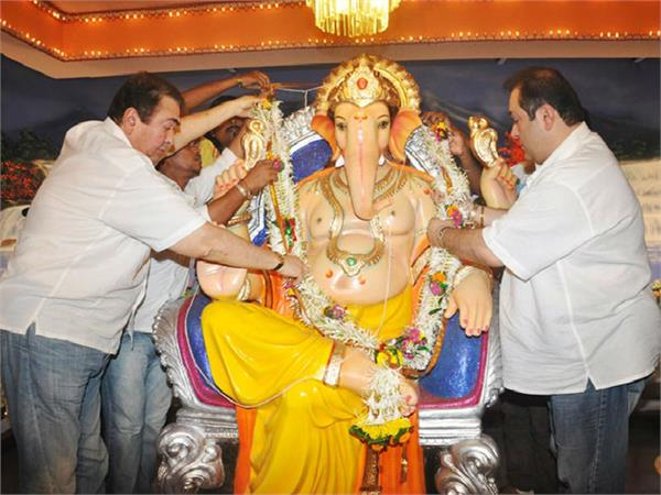 ganpati celebration iconic rk studios