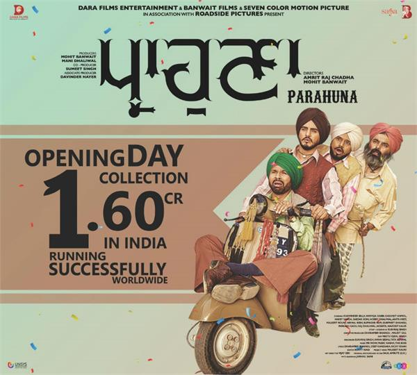 parahuna box office