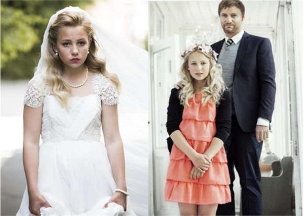 12 year old girl wedding video shared