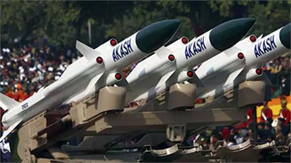 akash missile protect pak and china border