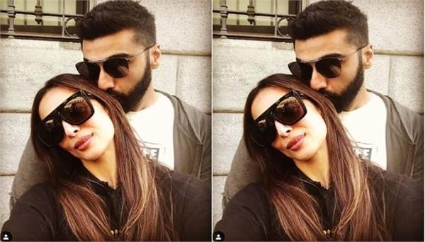 arjun kapoor posted love note for malaika arora on instagram