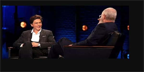 shah rukh khan david letterman jail netflix