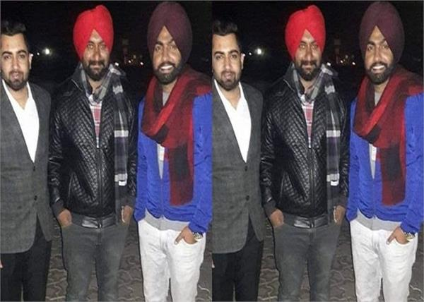 old picture of sharry maan and ammy virk together in one frame