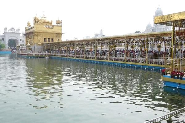 amritsar sri harmandir sahib guru ramdas ji foreign flowers decoration