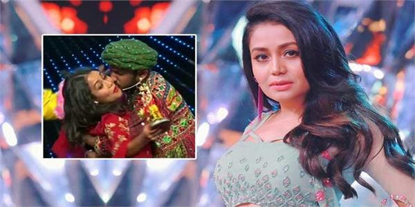 indian idol 11 neha kakkar kiss video