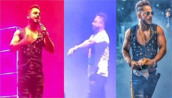 millind gaba remove his t shirt during live music performance in jaipur