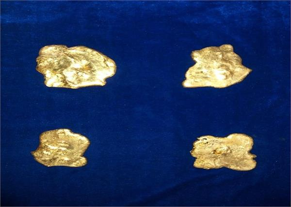 customs department gold seized chennai airport
