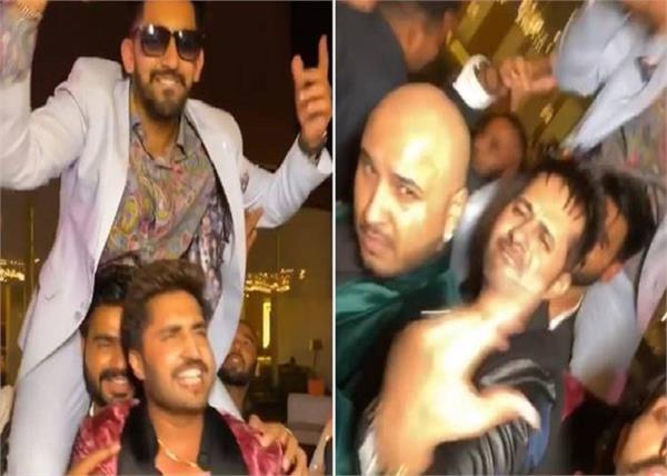jassi gill prabh gill babbal rai b praak enjoying party bollywood star