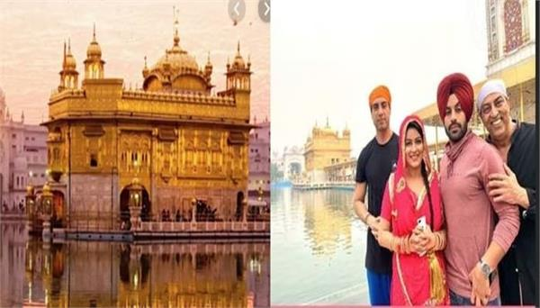 nanak naam jahaz hai star cast visits golden temple