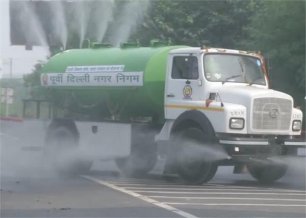 delhi pollution municipal corporation water