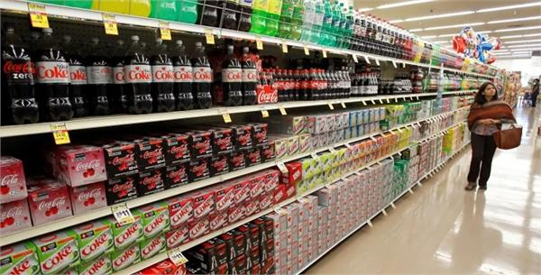 advertising ban for pre packaged drinks high in sugar