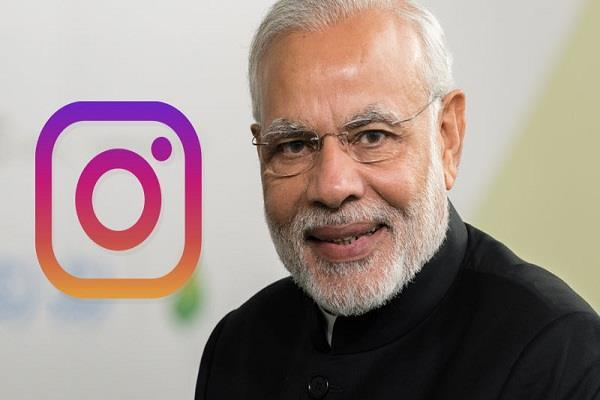 pm modi becomes most followed leader on instagram