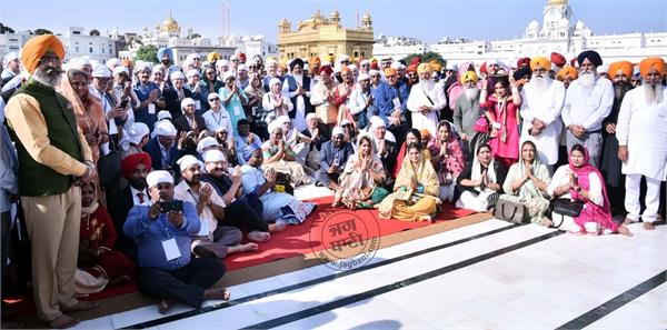 sachkhand sri harmandir sahib  ambassador of 84 countries