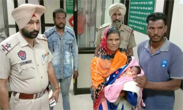 newborn baby found in unclaimed condition