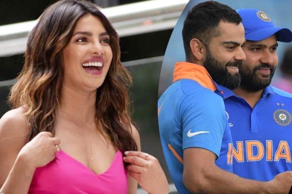 priyanka chopra likes this cricketer instead of dhoni