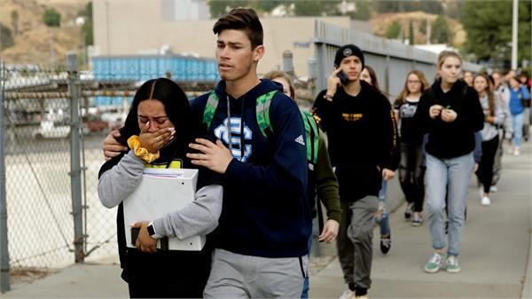 1 shot dead several injured in us high school shooting