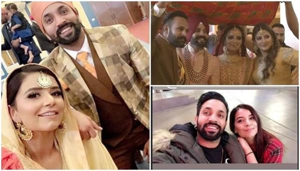 dilpreet dhillon shares picture of his wife amber  s birthday