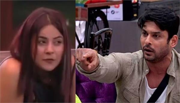 bigg boss 13   shehnaz gill goes against sidharth shukla