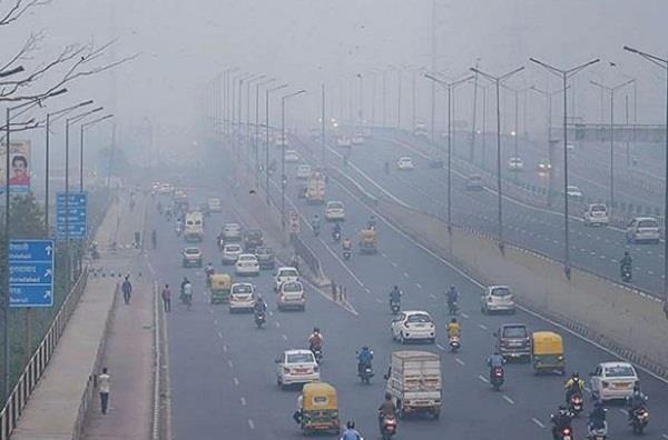 delhi pollution today aqi