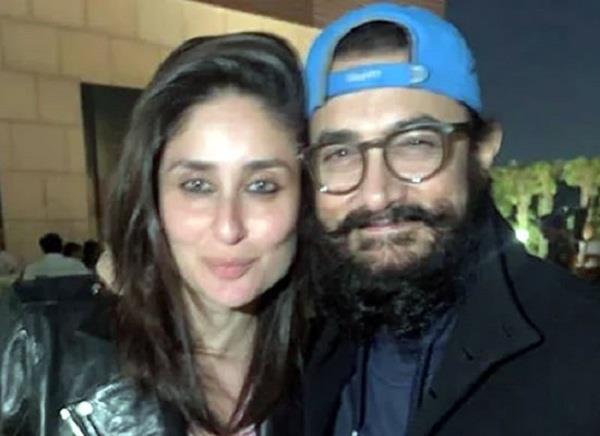 lal singh chadha star aamir khan and kareena kapoor night party